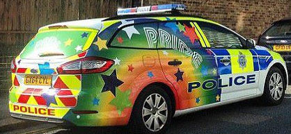 Gay friendly police departments